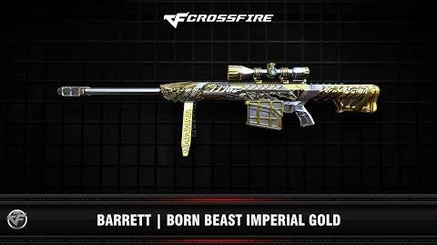 CF Barrett Born Beast Imperial Gold