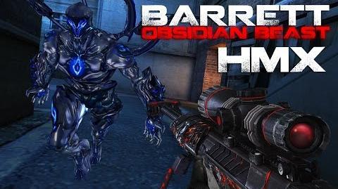 CrossFire M82A1 Barrett Obsidian Beast (Born Beast) HMX ll 10DarkGamer