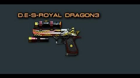 Cross Fire China -- Desert Eagle-S Royal Dragon 3 -Review-!