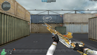 AK47 K BB NOBLE GOLD MELEE 1