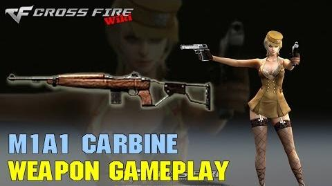 CrossFire - M1A1 Carbine - Weapon Gameplay