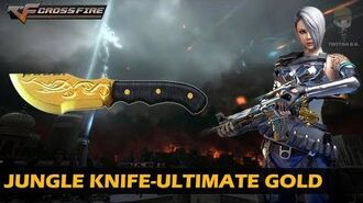 CrossFire Vietnam Jungle Knife-Ultimate Gold