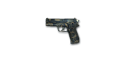 Pistol P228-Camo
