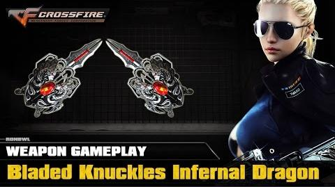 CrossFire VN - Bladed Knuckles Infernal Dragon