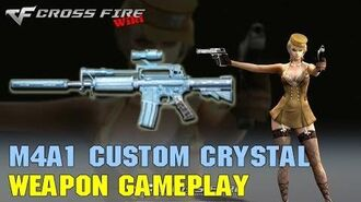 CrossFire - M4A1 Custom Crystal - Weapon Gameplay-0