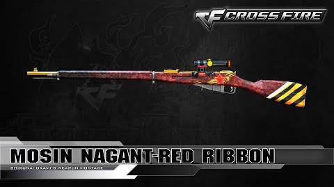 CrossFire Vietnam 2.0 Mosin Nagant-Red Ribbon (St.George's Ribbon) ☆