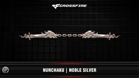 CF Nunchaku Noble Silver