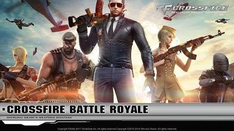 CrossFire China Battle Royale Chế độ sinh tồn 1