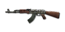 RIFLE AK-47-Digital Camo