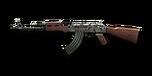 RIFLE AK-47-Digital Camo
