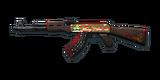 RIFLE AK-47-XMAS