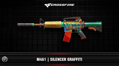 CF M4A1 Silencer Graffiti