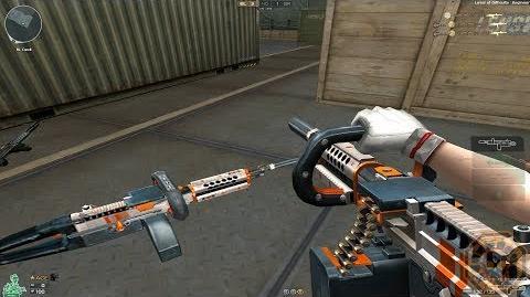 Cross Fire NA UK KAC ChainSaw-Dark Orange (KAC ChainSaw-Burnt Metal)!