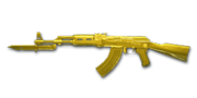 AK47 Knife YellowCrystal NoMark
