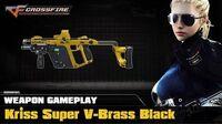CrossFire VN - Kriss Super V-Brass Black