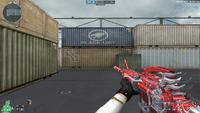 M4A1 S G SPIRIT RED HUD