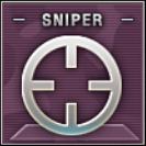 Sniper Badge Class A Level 2