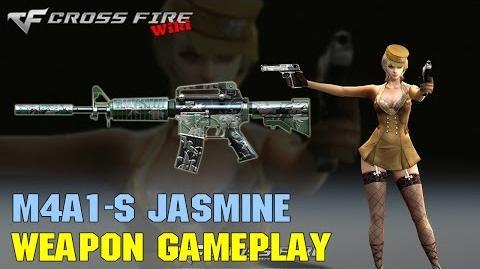 CrossFire - M4A1-S Jasmine - Weapon Gameplay