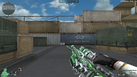 M4A1 S G SPIRIT GREEN CHANGE MODE