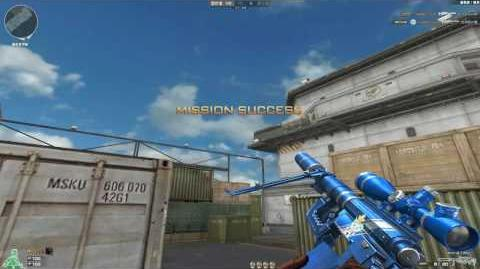 Cross Fire China M200 Cheytac-Platinum Blue!