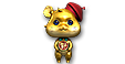 Lucky Mouse Doll Gold