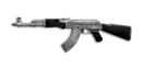 RIFLE AK-47-Silver