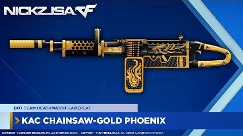 KAC ChainSAW-Gold Phoenix CROSSFIRE China 2