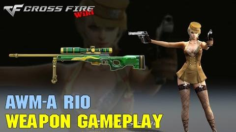 CrossFire - AWM-A Rio - Weapon Gameplay