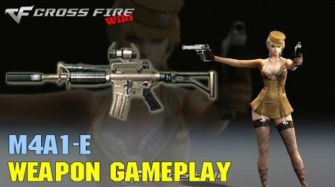 CrossFire - M4A1-E - Weapon Gameplay