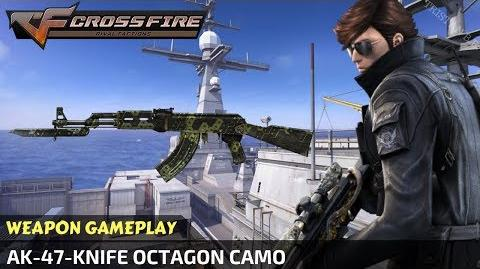 CrossFire Vietnam - AK-47-Knife Octagon Camo