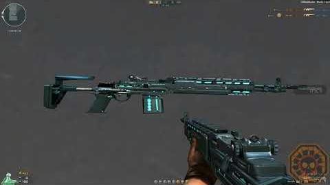 Cross Fire Brazil M14EBR-Blue Light (M14EBR-Netuno)!