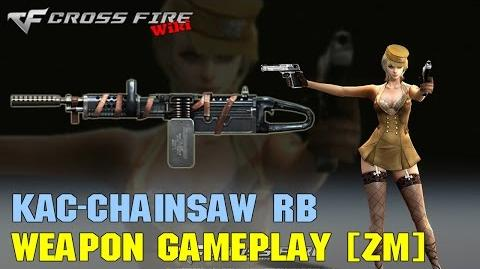 CrossFire - KAC-Chainsaw Red Bandage - Weapon Gameplay ZM