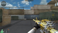 M4A1 S G SPIRIT NOBLE GOLD HUD