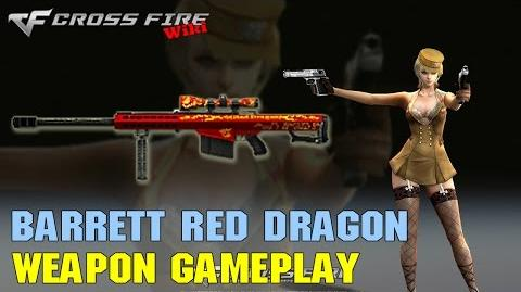 CrossFire - Barrett M82A1 Red Dragon - Weapon Gameplay