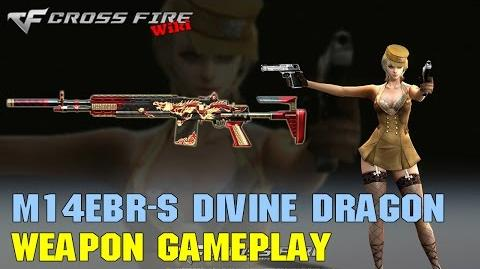 CrossFire - M14EBR-S Divine Dragon - Weapon Gameplay
