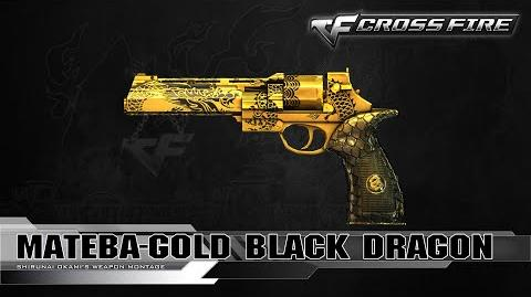 CrossFire Vietnam Mateba-Gold Black Dragon ☆
