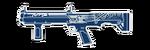 HUD KSG-15-BLUESILVERDRAGON