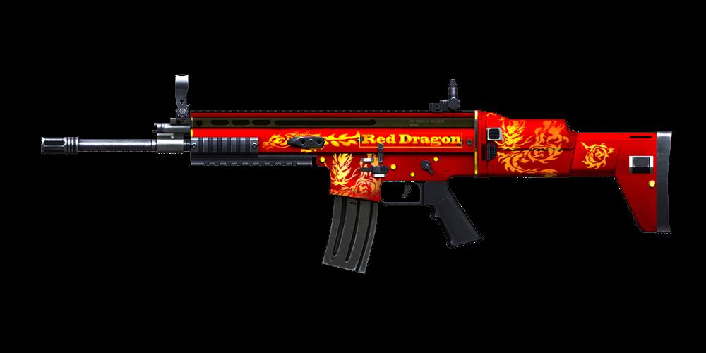 SCAR Light-Red Dragon | Crossfire Wiki | Fandom