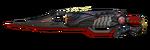 Ak47redscorpion knife