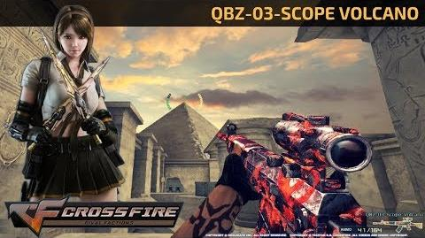 CrossFire Vietnam - QBZ-03-Scope Volcano