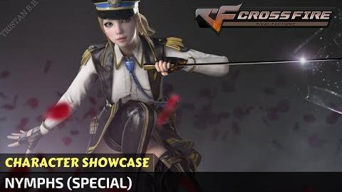CrossFire China - Nymphs Character (Special) in Zombie Mode VVIP Character