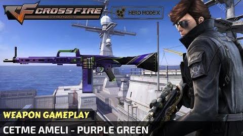 CrossFire Vietnam - CETME Ameli - Purple Green