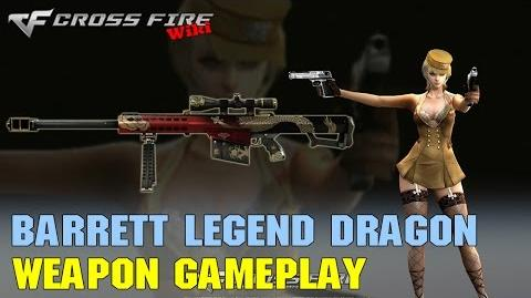 CrossFire - Barrett M82A1 Legend Dragon - Weapon Gameplay