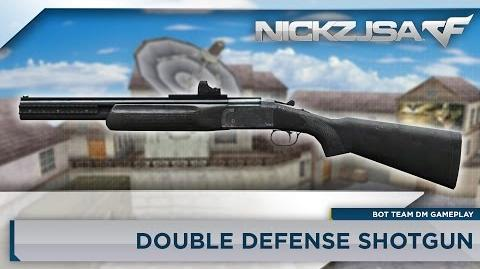 Double Defense Shotgun - CROSSFIRE Japan 2