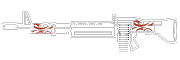 HUD M60-REDSILVERSMITH