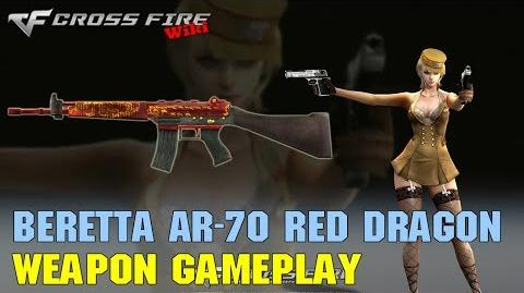 CrossFire - Beretta AR-70 Red Dragon - Weapon Gameplay