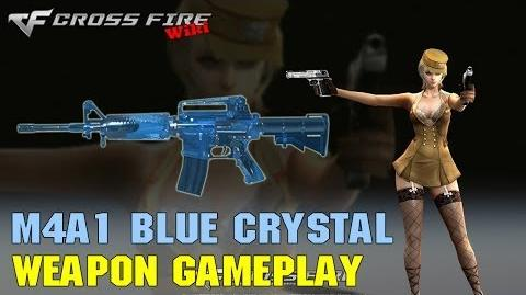 CrossFire - M4A1 Blue Crystal - Weapon Gameplay