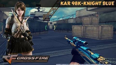 CrossFire Vietnam - Kar 98K-Knight Blue