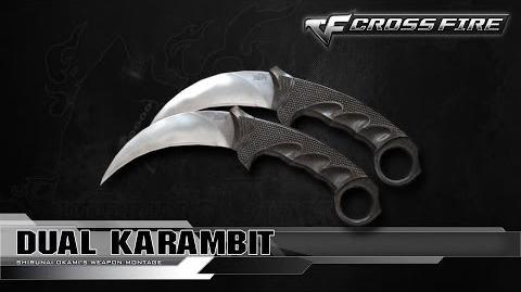 CrossFire Vietnam Dual Karambit ☆
