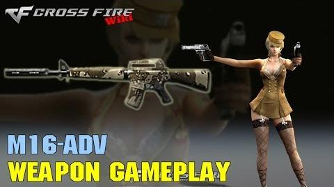 CrossFire - M16-Adv - Weapon Gameplay